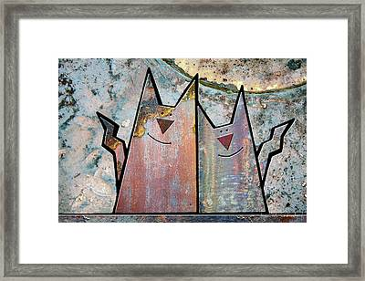 Cozy Framed Print by Joan Ladendorf