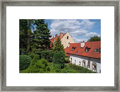 Framed Print featuring the photograph Cozy Prague by Jenny Rainbow