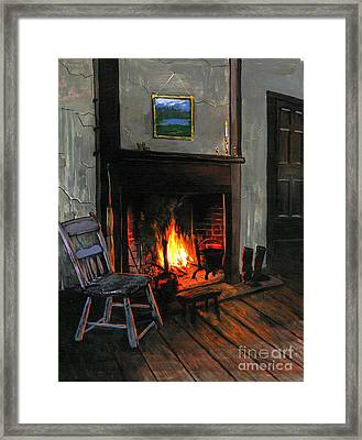 Cozy Framed Print by Robert Foster