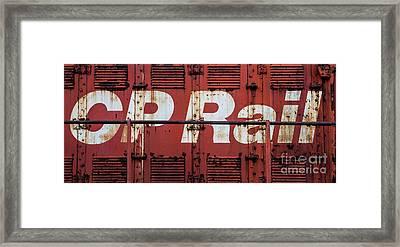 Cp Rail Framed Print