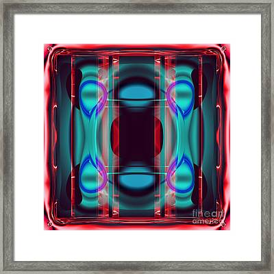 Cpu Inside Framed Print by Ganesh Barad