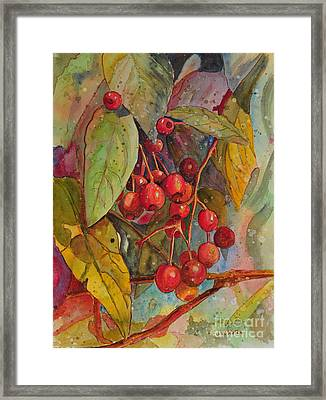 Crab Apples I Framed Print
