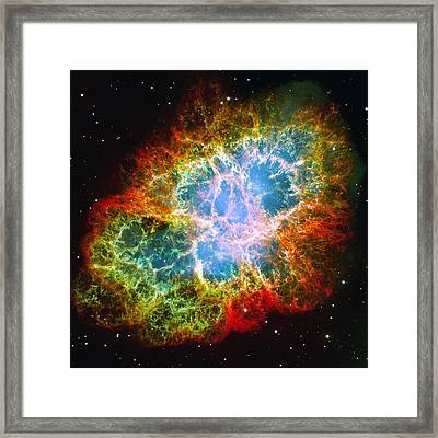 Crab Nebula Framed Print by Don Hammond