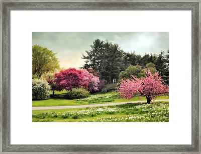 Crabapple Meadow Framed Print by Jessica Jenney