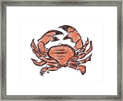 Crabby Framed Print