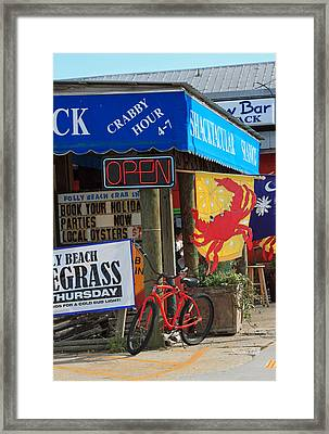 Crabby Hour 4-7 Framed Print