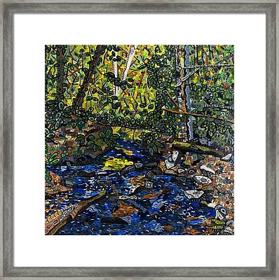 Crabtree Creek Framed Print by Micah Mullen