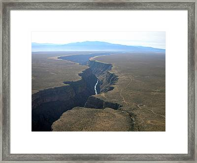Crack In The Earth  Framed Print by Irina ArchAngelSkaya