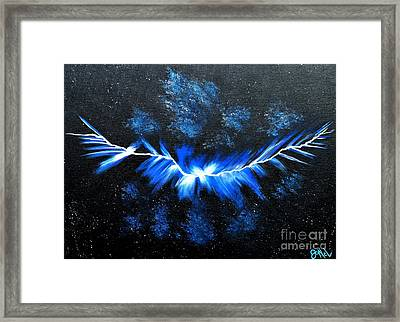 Crack In The Sky Framed Print by JoNeL Art