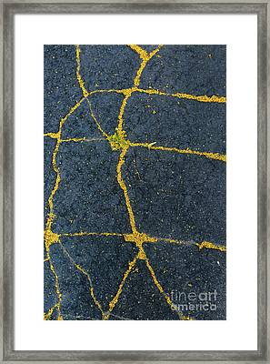Cracked #1 Framed Print