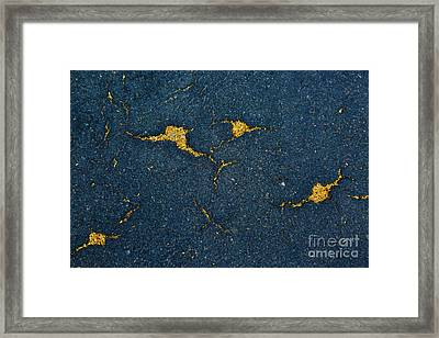 Cracked #10 Framed Print