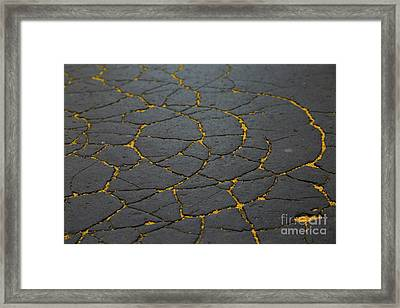 Cracked #11 Framed Print