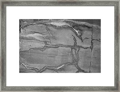 Framed Print featuring the photograph Cracked by Kristin Elmquist