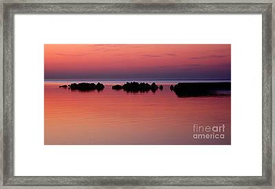 Cracking Dawn Framed Print