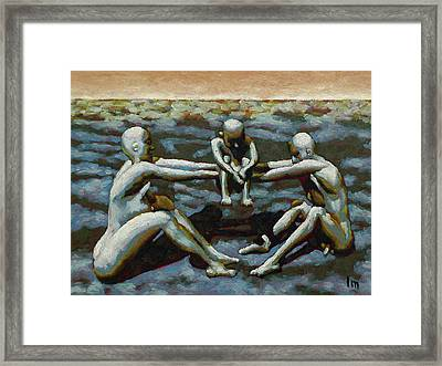Cradle Framed Print by Leo Mazzeo