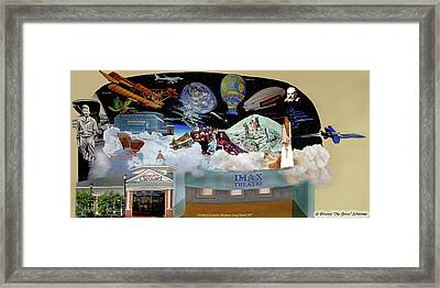 Cradle Of Aviation Museum Framed Print