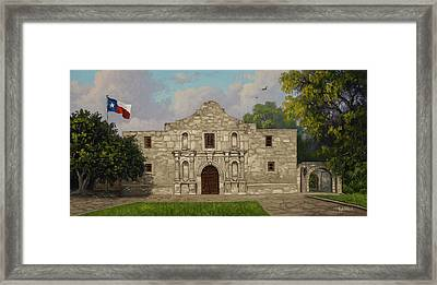 Cradle Of Texas Liberty Framed Print