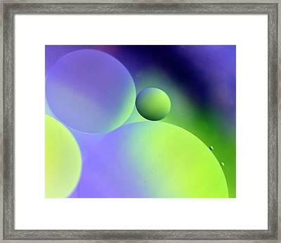 Cradle Framed Print by Rebecca Cozart