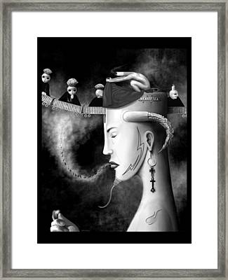 Cradle The Inspiration Framed Print by Will Crane