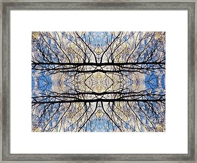 Cradling The Sky Framed Print