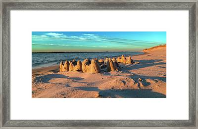 Crafted With Care By Tiny Hands Framed Print by Betsy Knapp