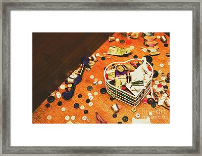 Crafting Corner Framed Print