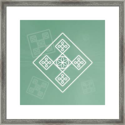 Crafting The Soul Framed Print