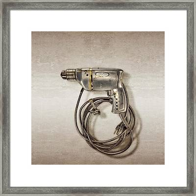 Craftsman Drill Motor Left Side Framed Print