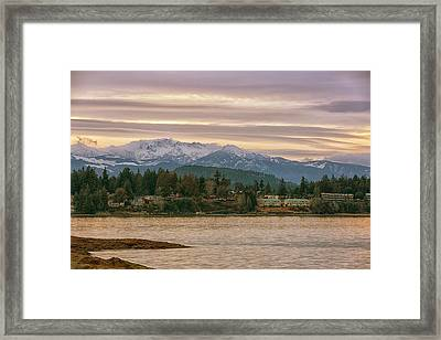 Framed Print featuring the photograph Craig Bay by Randy Hall