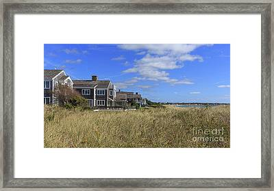 Craigsville Beach Cape Cod Framed Print