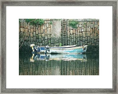Crail Harbour Framed Print