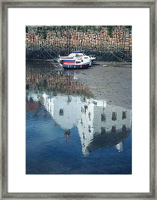 Crail Reflection I Framed Print
