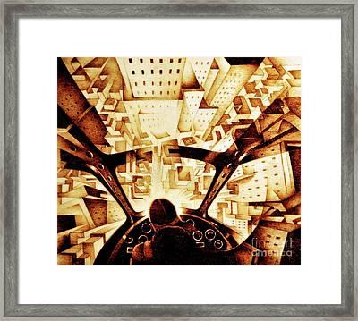 Crali Framed Print