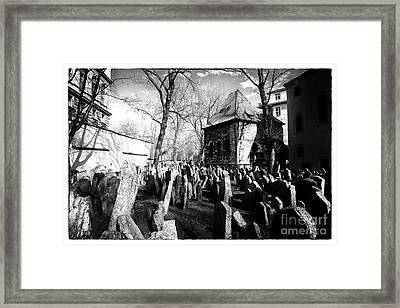 Cramped Framed Print by John Rizzuto
