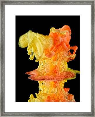 Crank Framed Print by Henry Jager