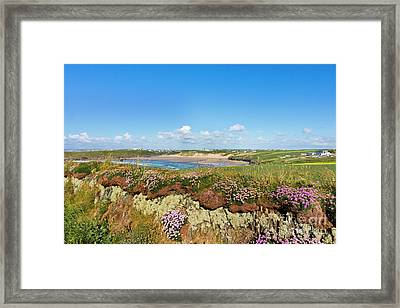 Crantock Cornwall Framed Print by Terri Waters