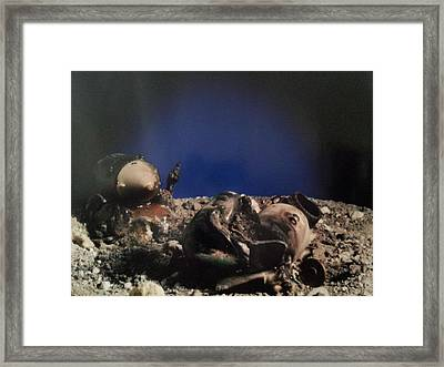 Crash In Space 2 Framed Print