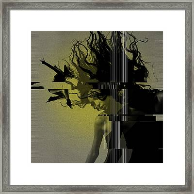 Crash Framed Print by Naxart Studio