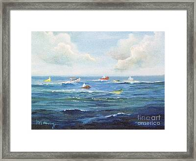 Crashboat Beach Framed Print