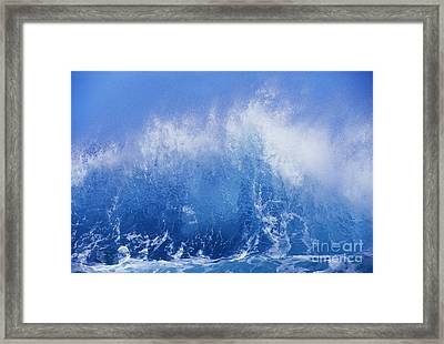 Crashing On Shore Framed Print by Vince Cavataio - Printscapes
