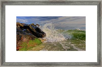 Crashing The Sky Framed Print by David Hahn