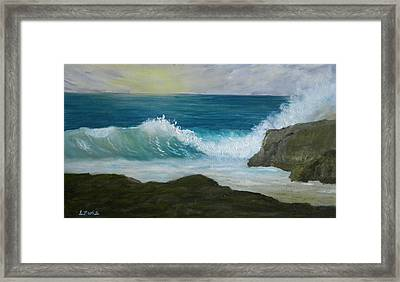 Crashing Wave 3 Framed Print