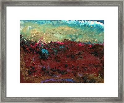 Crater #9 Framed Print by Joseph Demaree