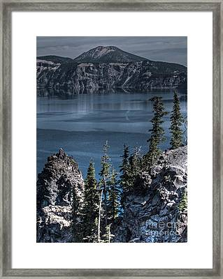 Crater Lake 4 Framed Print