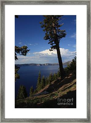 Crater Lake 7 Framed Print by Carol Groenen