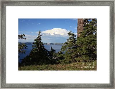 Crater Lake 8 Framed Print