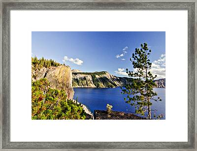 Crater Lake II Framed Print