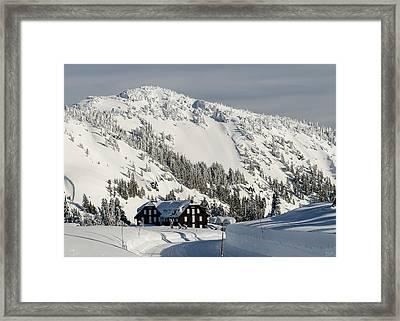 Crater Lake Lodge Framed Print
