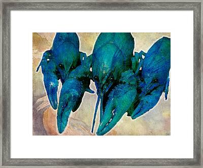 Crawfish Blues Framed Print by Stranger  Mojo