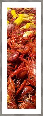 Crawfish Boil Bayou St John Nawlins Framed Print by Sean Gautreaux